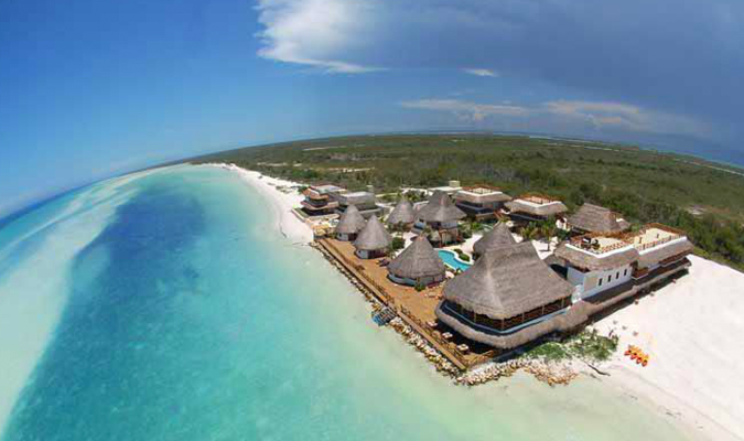 Las Nubes hotel in Island Holbox