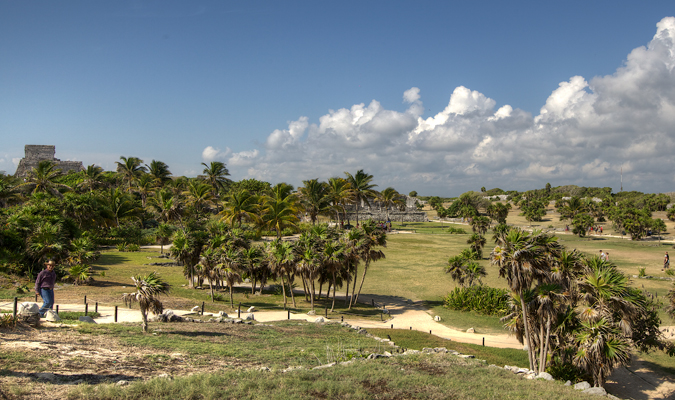 Ruins at Tulum private tour