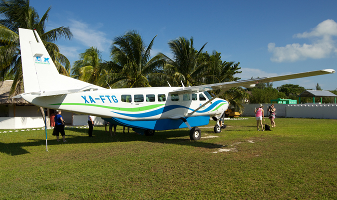 Private Cessna in Cancun
