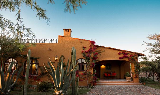 Rancho del sol journey mexico for Casas puerta del sol bosque real