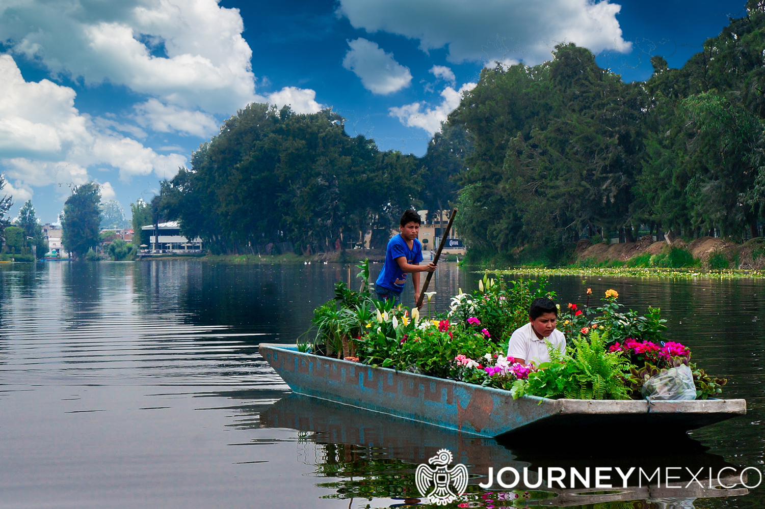 The Floating Gardens Of Xochimilco Journey Mexico