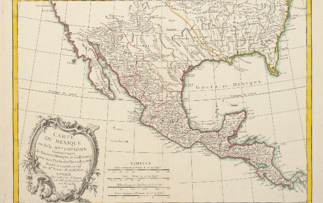map of new spain