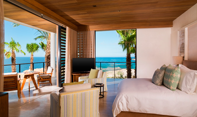 Chileno Bay oceanfront room