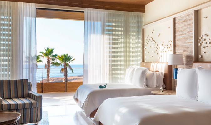 Chileno Bay oceanview double room