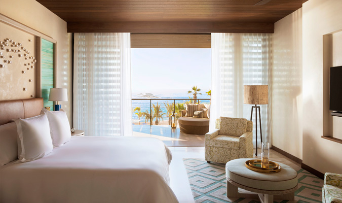 Chileno Bay oceanview room