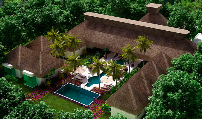 Chablé Maroma hotel render