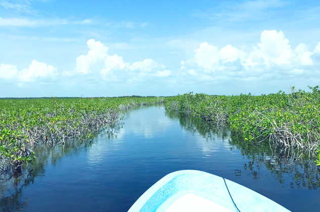 Private tour to biosphere reserve of Sian Kaan
