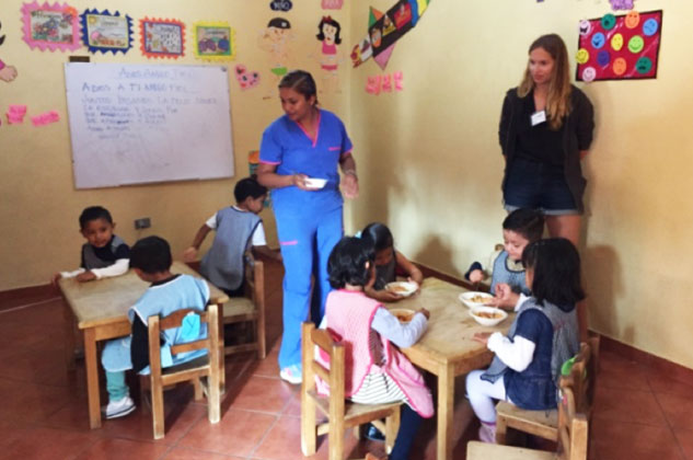 Volunteering experience at casa de los angeles