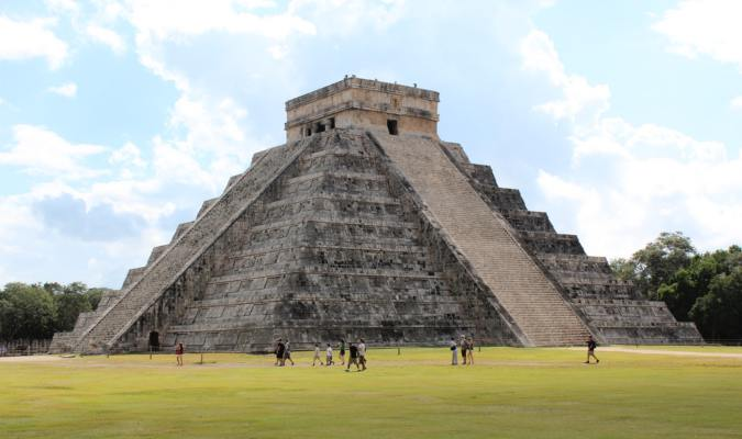 One of the pyramids in Mexico, El Castillo