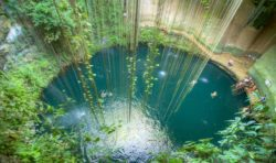 One of the cenotes in Mexico - Ik kil
