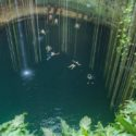 One of the cenotes in Mexico: Ik-Kil