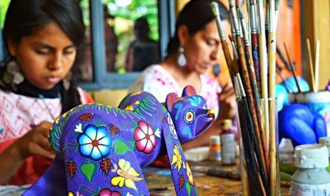 Oaxaca, un punto de acceso a las artesanías.