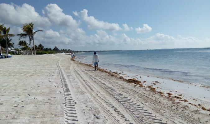 Playa del carmen beach erosion 2018