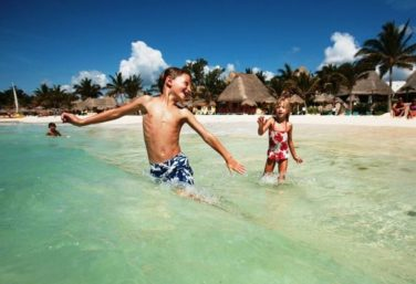 Mahekal, one of the luxury family resorts in the Riviera Maya