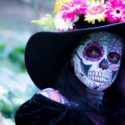 A catrina celebrating Day of the Dead in Mexico