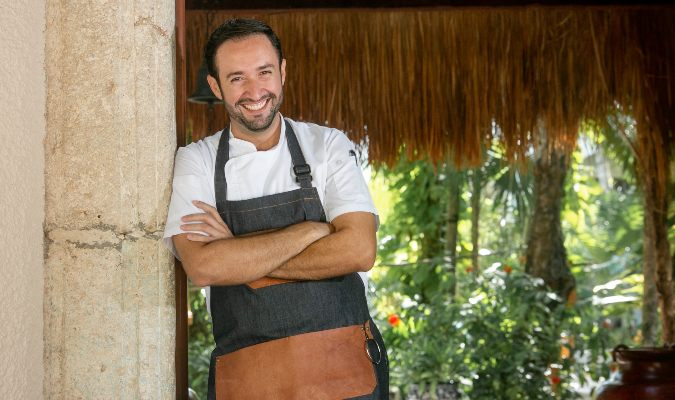 Belmond Maroma's executive chef, Daniel Camacho