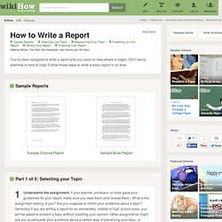 Write my book reports